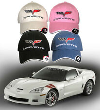 C6 Chevrolet Corvette Hat - (2005-2012) Z06 ZR1 Grand Sport - New!