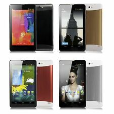 New 7'' inch Android 4.4 KitKat 3G Dual Core Dual Sim Smartphone GPS HD Phablet