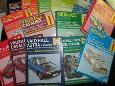 HAYNES OWNERS WORKSHOP MANUAL Cavalier Astra Orion Golf Vauxhall 1980s SELECTION