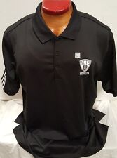 BROOKLYN NETS NBA ADIDAS CLIMACOOL DRI FIT GOLF SHIRT POLO NEW PICK SIZE