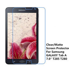 """New Clear / Matte Screen Protector Film For Samsung Galaxy Tab A 7.0"""" T285 T280"""