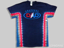 T-Shirts Sizes S-4XL Grateful Dead Grateful Dad Tie Dye Mens Tee Shirt