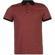 Soviet Mens Feeder Polo Classic Fit Casual T Shirt Tee Top Clothing Wear