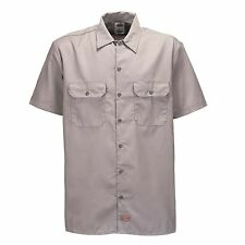 Dickies - Shorts/S Work Shirt Silver Grey Work Shirt Leisure Shirt Business Grey