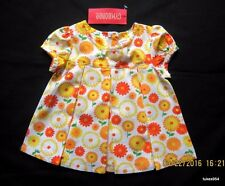 Gymboree Daisy Days Flower Orange Yellow White Top Shirt 18-24, 4, 4T NWT New