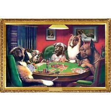 """Dogs Playing POSTER Poker """"ALSO AVAILABLE FRAMED & LAMINATED"""""""