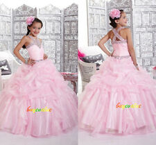 Flower Girls' Dresses Girls Pageant Wedding dress party dress formal Age 2-14