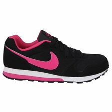Nike MD Runner 3 Black Pink Youths Trainers