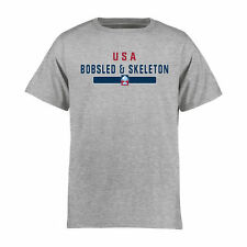USA Bobsled & Skeleton Youth NGB Team Strong T-Shirt - Ash - Olympics