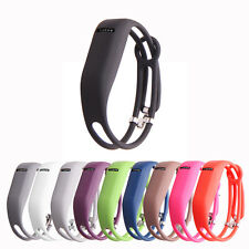 For Fitbit Flex Replacement Wristband Slim Soft Silicone Metal Clasp Band Cover