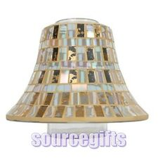 NEW GLASS SHADE FOR LARGE VILLAGE AND YANKEE CANDLE JARS WITH FREE POST VC095