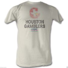 T-Shirts Sizes S-2XL New AuthenticUSFL Houston Gamblers Mens T-Shirt