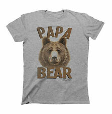 PAPA BEAR Fathers T-Shirt Gift For Dad Birthday Fathers Day Christmas Daddy