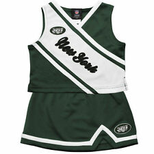 New York Jets Preschool Girls 2-Piece Cheerleader Set - Green - NFL