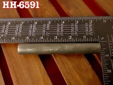 """5.3""""Forge Damascus steel 7.79 MM Hollow round Pipe guard/Ring jewelry@HH-6591"""