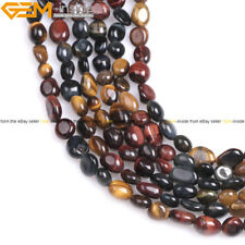 10x12mm Freeform Potato Nugget Gemstone Baroque Beads For Jewelry Making 15""