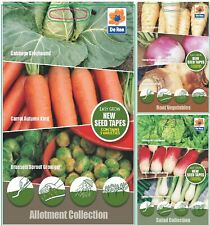 De Ree Varieties of 5MTR Vegetable Seeds Tape for Garden & Outdoors