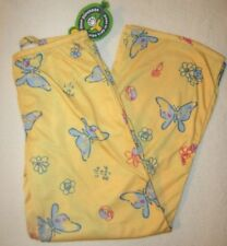 LIFE IS GOOD Butterfly PJs Pajamas Lounge Pants Bottoms NWT Girls M Medium 7 8