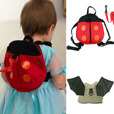 Child Baby Keeper Toddler Walking Safety Harness Backpack Bag Strap Rein Lesh