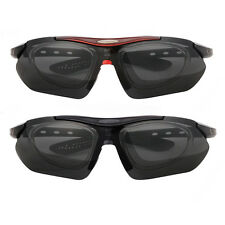 Cycling Riding Polarized Sunglasses 5 Lenses UV400 Bike Glasses Eyewear