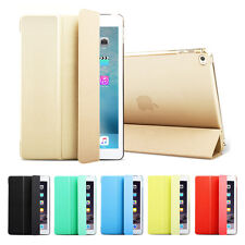 New Smart Magnetic PU Leather Stand Cover Case for Apple iPad 2 3 4 Mini Air Pro