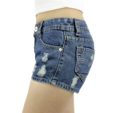 Hot Summer Women Lady Casual Shorts Blue Color Jeans Short Pants Denim Shorts
