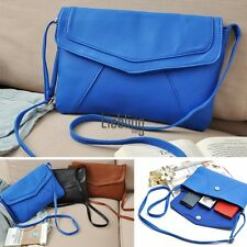 Womens PU Leather Handbag Crossbody Satchel Shoulder Messenger Bag New LEBB