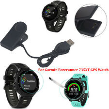USB Charging Clip Magnetic Charger Data For Garmin Forerunner 735XT GPS Watch