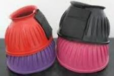 Velcro Rubber Over Reach Boots for over horse hooves