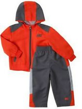 NEW Nike Little Boys' Windsuit Jacket & Pants Set 2T,3T,4 Orange/Grey
