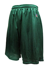 RUSSELL ATHLETIC MESH SHORTS SHORT (DARK GREEN) BASKETBALL SOCCER GYM NEW TAGS