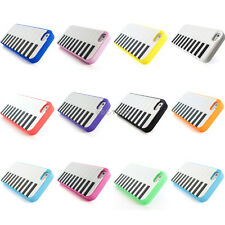For iPhone 5S 5 Colorful Piano Keyboard Silicone Rubber Gel Soft Case Cover