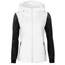 Firetrap Womens Luxe Mesh Hoody Ladies Full Zip Hoodie Long Sleeve Hooded Top