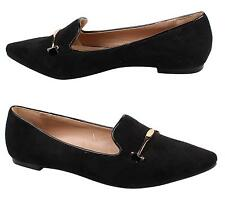 New Womens Ladies Flats Dolly Pointed Toe Ballerina Ballet Pumps Flat Shoes Size