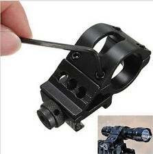 """1"""" / 30mm Offset Scope Ring with 20mm QD Rail Mount for Scopes/Laser/Flashlight"""