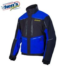 Klim Men's GORE-TEX™ WATERPROOF Blue VALDEZ Snowmobile Parka Jacket - Closeout!