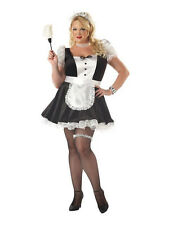 Womens Fiona The French Maid Plus Fancy Dress Costume