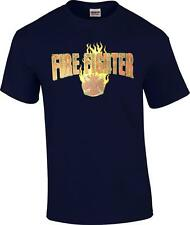 Firefighter Flame Fireman Volunteer Fire Rescue Occupation T-Shirt