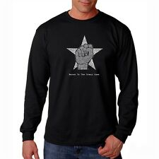 Men's Long Sleeve T-shirt - Steve Jobs - Here's to The Crazy One's