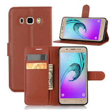 Luxury Wallet PU Leather Flip Stand Case Cover for Samsung Galaxy J5 2016 J510