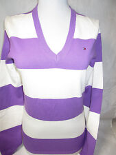 TOMMY HILFIGER womens v-neck longsleevessweaters new nwt