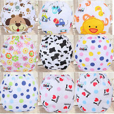 Baby Infant Printed Cloth Diaper One Size Reusable Waterproof TPU Nappy Covers