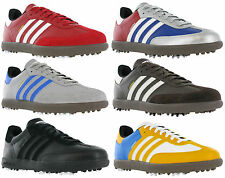 Adidas Samba Golf Leather Spike Lace Up Sports Mens Trainers UK 8.5 / US 9