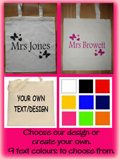 PERSONALISED Teacher Gift Thank You gift for Teacher - PERSONALISED TOTE BAG