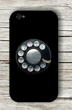ROTARY DIAL VINTAGE PHONE CASE COVER FOR iPHONE 4 / 4S OR 5 /5S -dt6j