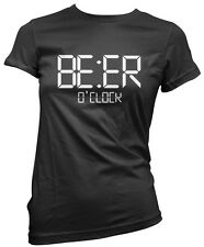 Beer O'Clock - Funny Beer Pint Pub Landlord Pub Drinker Girls T-Shirt Many Sizes