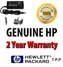 Genuine Original HP Compaq Laptop AC Adapter/Charger + UK Mains Lead FAST POST