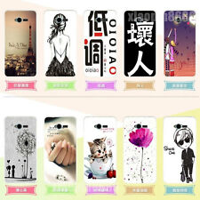 Slim Cartoon Skin Soft Rubber TPU Back Protective Cover Case For ZTE Blade L3