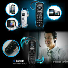 Bluetooth Mini Headset Dialer Stereo Calling Cell Mobile Phone Earphone GSM SIM