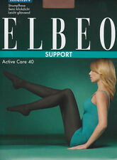 Elbeo Active Care 40, 3 pack, strong support, semi-opaque tights, light sheen
